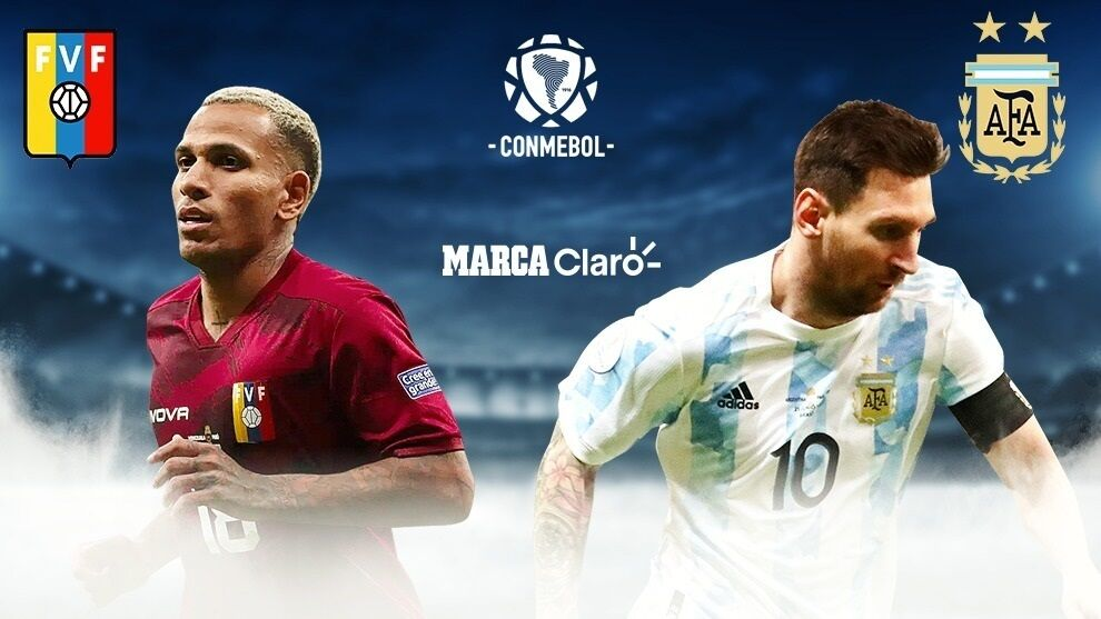Today's matches: Venezuela vs Argentina, live broadcast of the CONMEBOL qualifiers: Result of Round 9