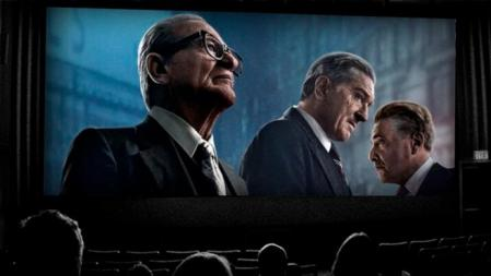 Joe Pesci, Robert De Niro and Al Pacino, the excellent trio of The Irishman
