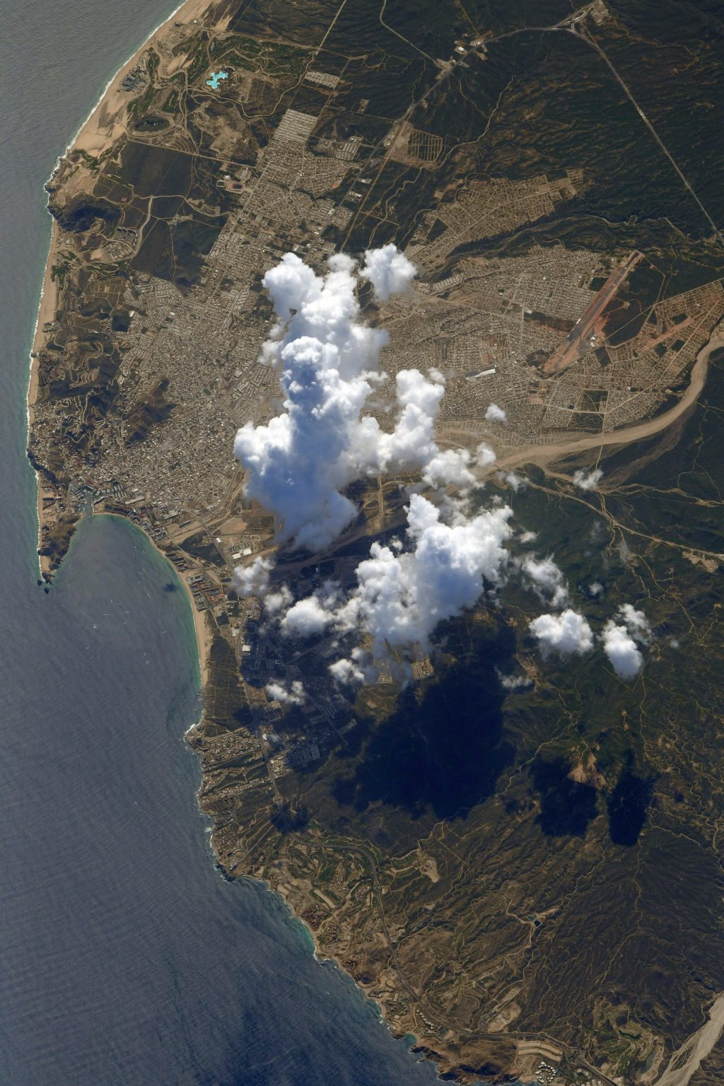Capturing Los Cabos from Space