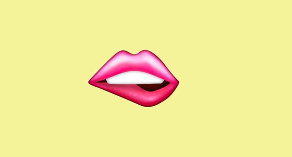 WhatsApp    Does lip sting emoji mean    Meaning    lip biting    Applications    Smartphone    Unicode    nda    nnni    SPORTS-PLAY