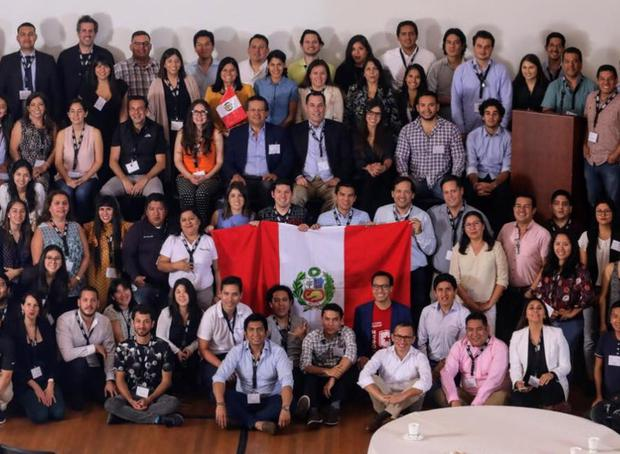 The Peruvian community in the United States meets once a year at Techsuyo.  In 2019, a version was held in Lima.  (Photo: broadcast)