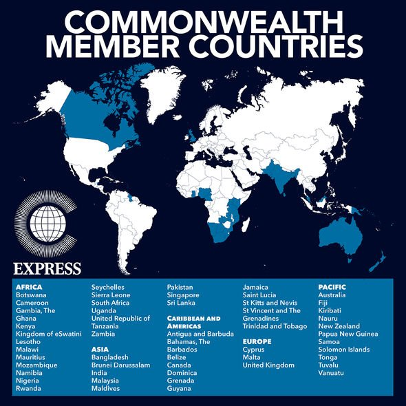 Commonwealth member states.