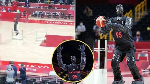 Meet the basketball robot