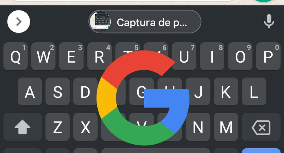 """Gboard    The trick is to send a """"screenshot"""" with one touch    Android    Apple    iOS    iPhone    technology    Applications    nda    nnni    SPORTS-PLAY"""