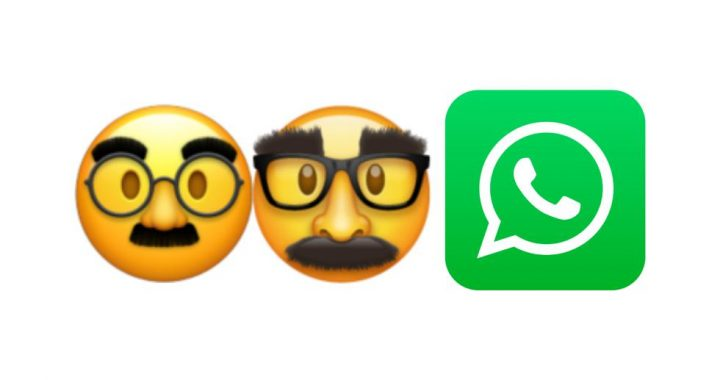 WhatsApp |  Find out the meaning of the strange face emoji with big eyebrows, glasses and mustaches |  SPORTS-PLAY