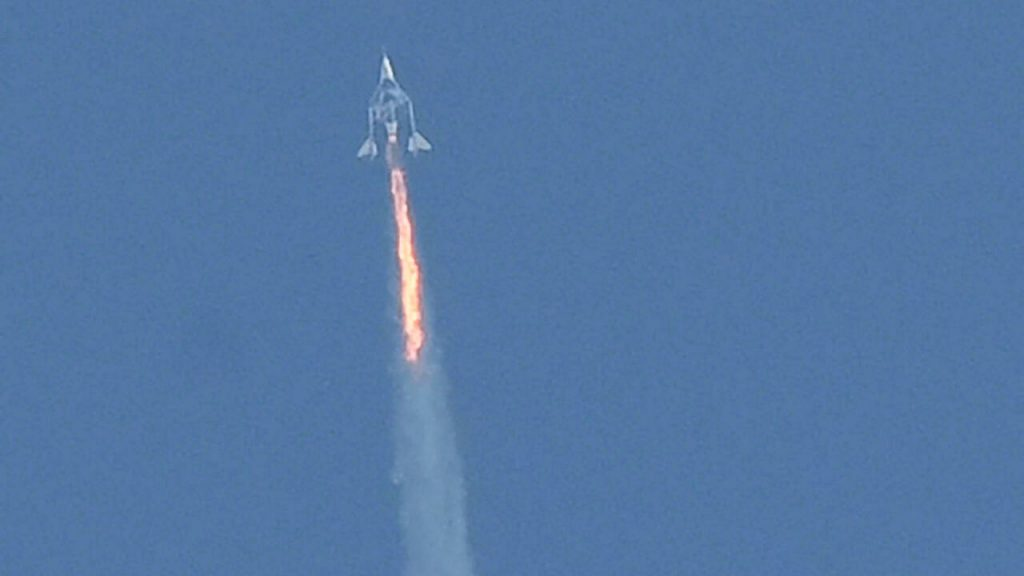 A report said Virgin Galactic's July flight into space encountered problems en route