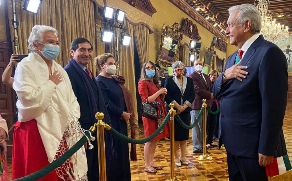 La senadora fue cuestionada sobre si no se pone en riesgo la relación entre México y EU por defender a Cuba.