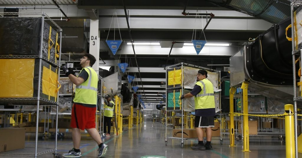 Amazon will employ 55,000 people around the world