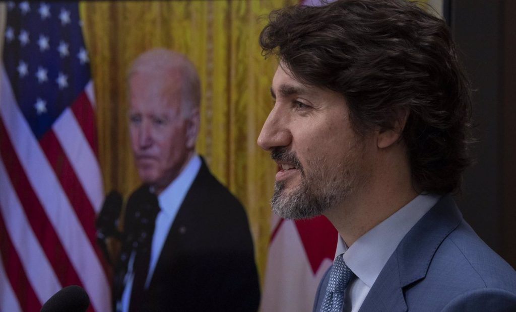Biden and Trudeau reiterated their commitment to strengthening the economies of the United States and Canada
