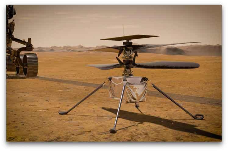 Brilliant helicopter makes thirteenth flight on Mars - Prensa Latina