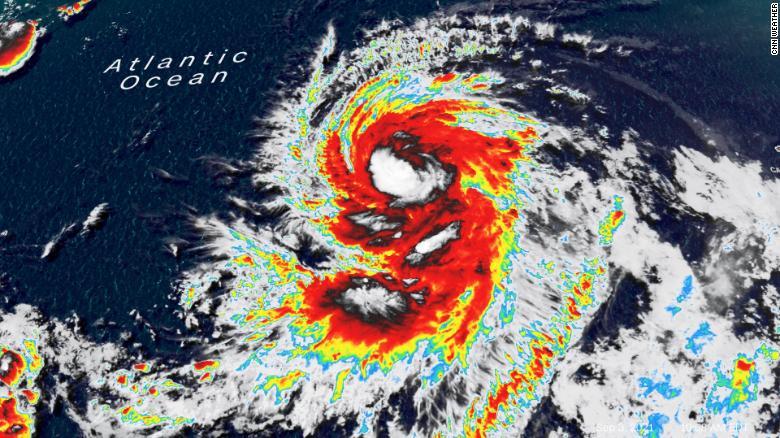 Category 2 hurricane Larry