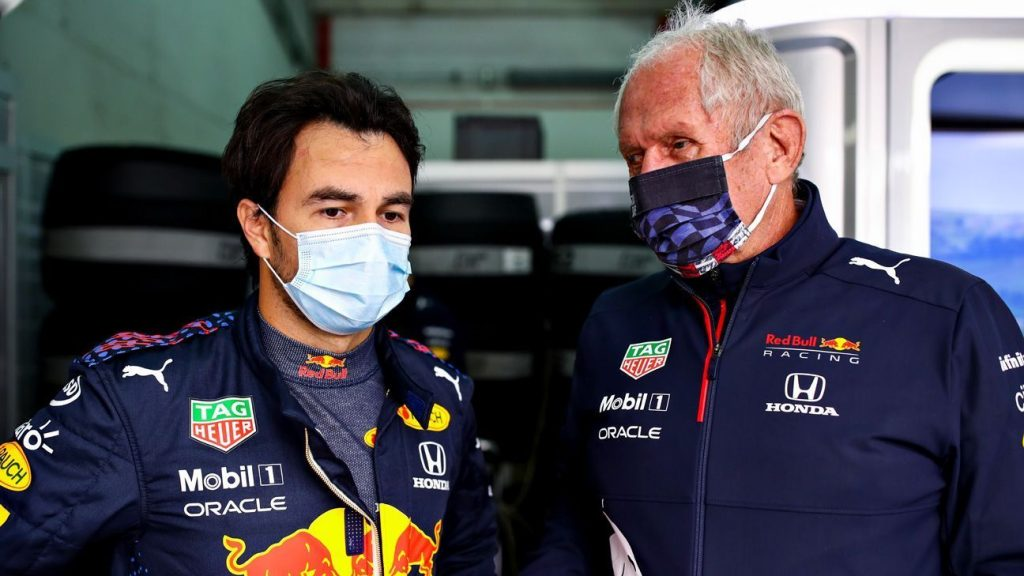Checo Pérez will start from the pit lane;  Red Bull changed the engine