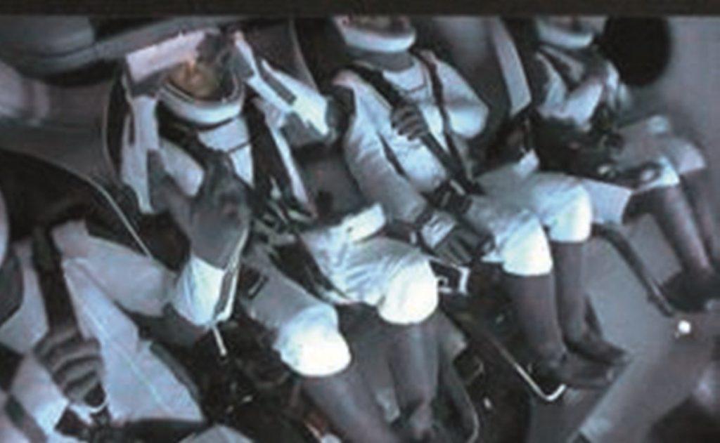 """""""Fue un gran viaje""""; vuelven primeros turistas espaciales"""