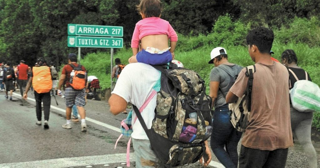 Mexico wants to discuss with the United States the issue of immigrants from Central America
