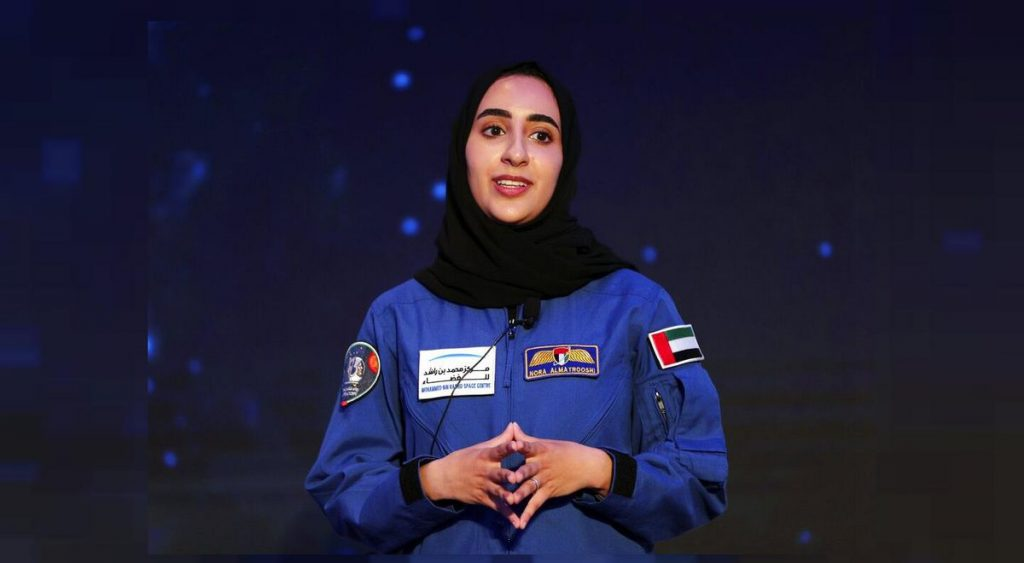 Nora Al Matrooshi, the first Arab astronaut to reach space and break stereotypes and gender roles