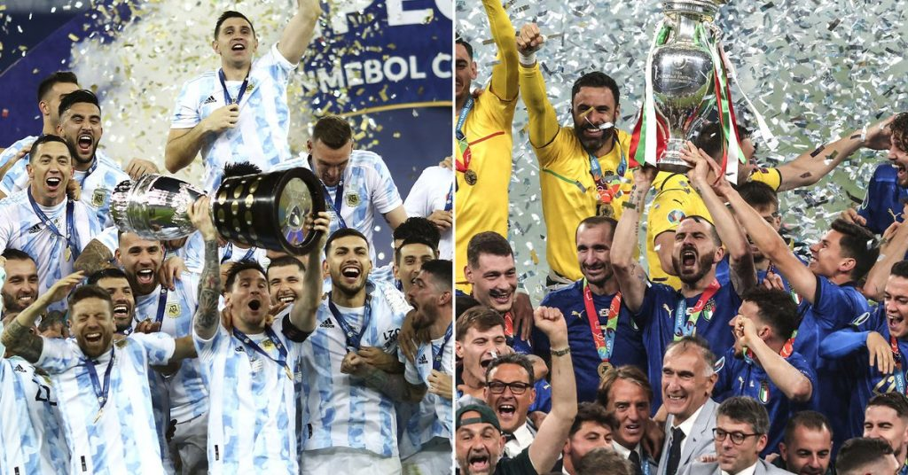 Official: Argentina will face Italy in a duel between the Copa America and Eurocopa champions