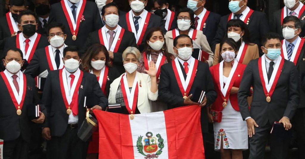 Peru Libre vs Pedro Castillo Signing the Chapultepec Declaration