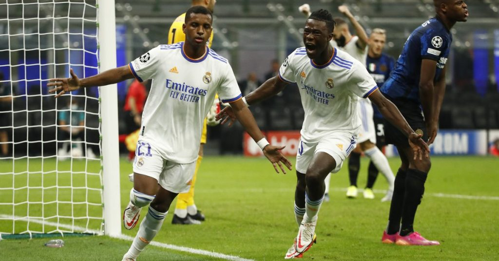 Real Madrid achieved a painful victory over Inter, crushed City, and Liverpool beat Milan on the first date of the Champions League.
