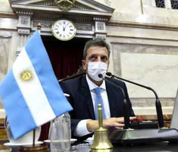 Sergio Massa will be the keynote speaker at the G20 Speakers of Parliament in Rome