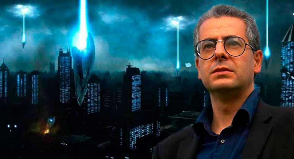 The researcher who claims that aliens can 'wipe out humanity' in conflict