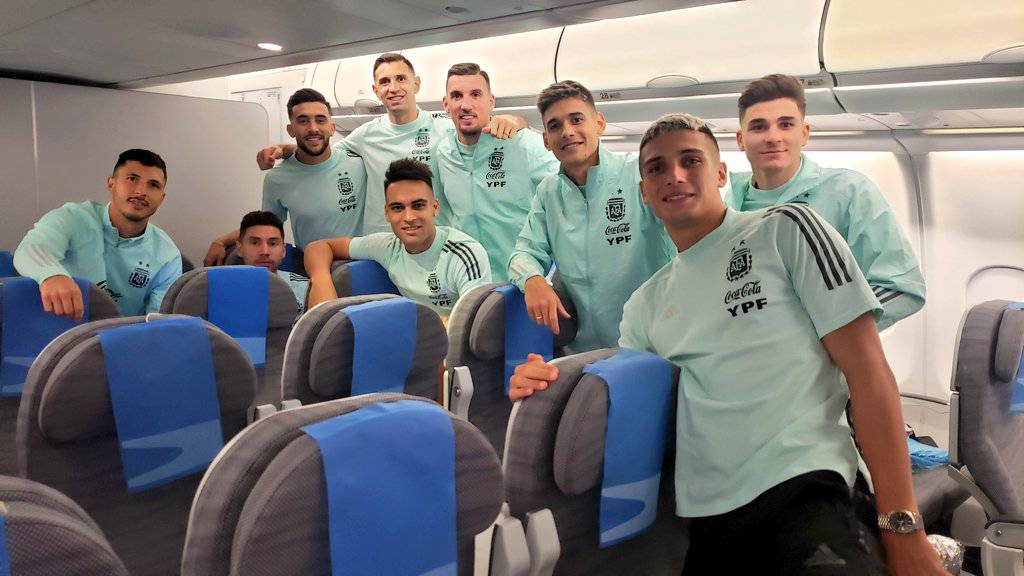 """With """"anger"""", Argentina arrived in Buenos Aires from Brazil and is preparing to face Bolivia    football    Sports"""