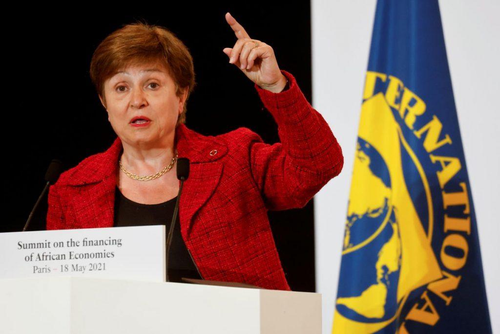 "The International Monetary Fund announces its decision ""very soon"" on Georgieva's future    Economie"