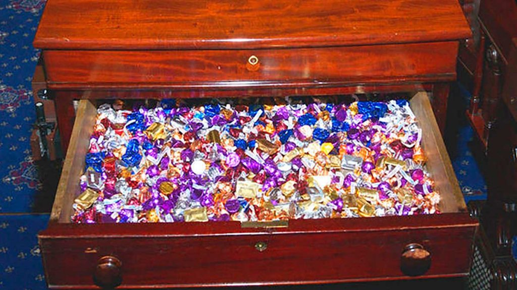 United States Senators' Secret Sweets Office