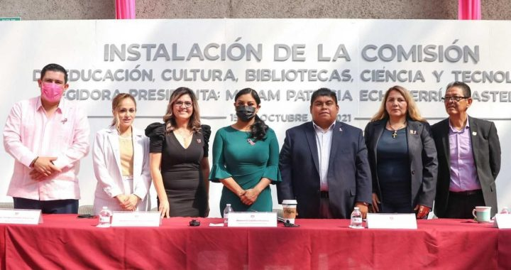 Caballero installs the Committee on Education, Culture, Libraries and Science
