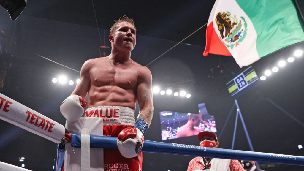 Canelo Alvarez will already have a new battle set for May 2022
