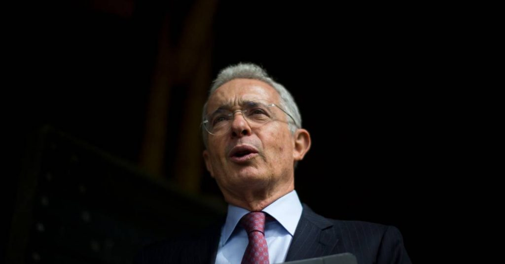 Alvaro Uribe has another street named after him in the United States
