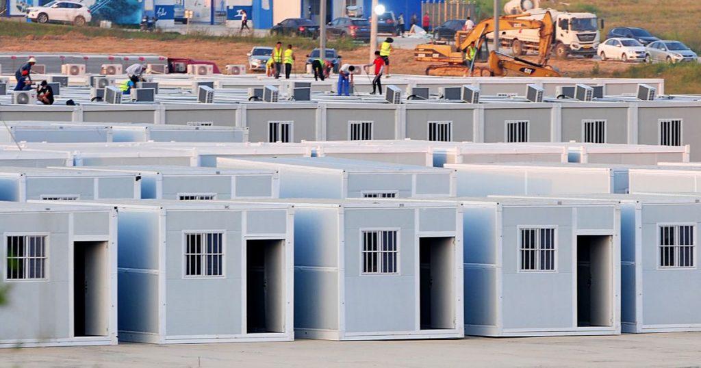 China (again) is building giant COVID-19 quarantine centers - El Financiero