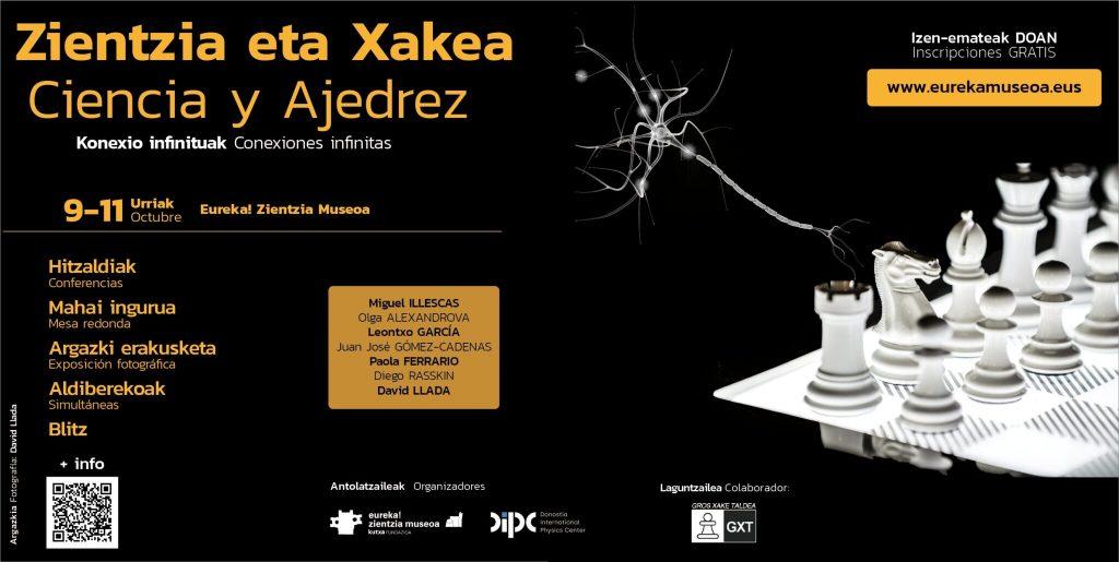 Conexiones Infinitas' de la mano del DIPC y Eureka!  Zientzia Museo