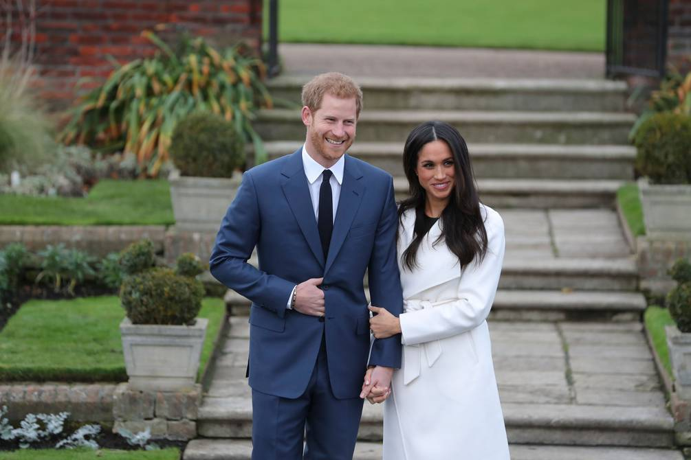 Enrique and Meghan Markle are partners in an ethical investment firm    people    entertainment