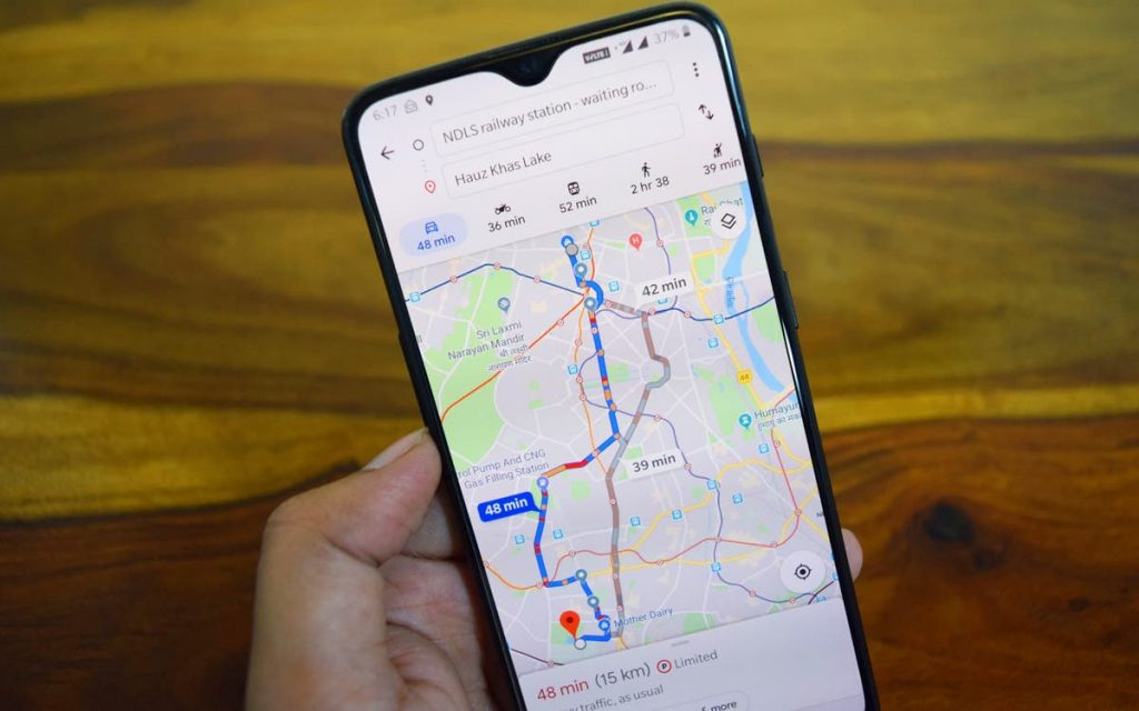 Google Maps will take you along the least polluted route, not the shortest - tech - hybrid and electric