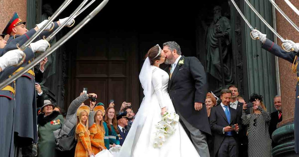 Heir to the last Romanov tsar of Russia marries Saint Petersburg