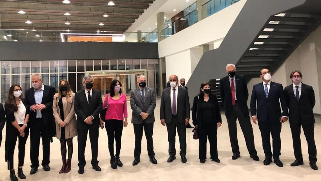Mansour inaugurated the building of the symbol of science and development