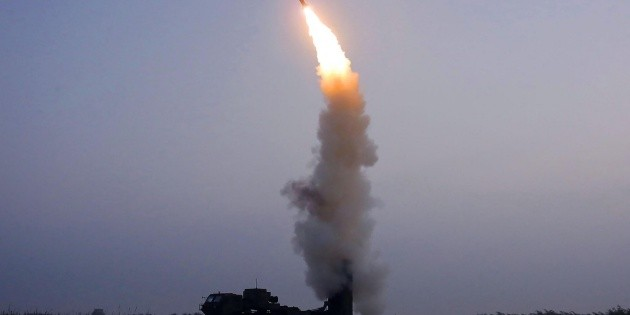 North Korea announces that it has conducted a test of an anti-aircraft missile