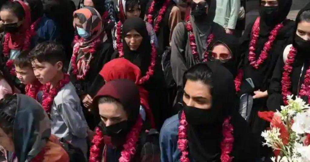 UK hosts Afghan women's soccer team